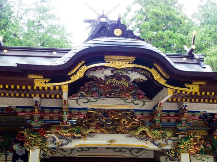 壮麗な社殿