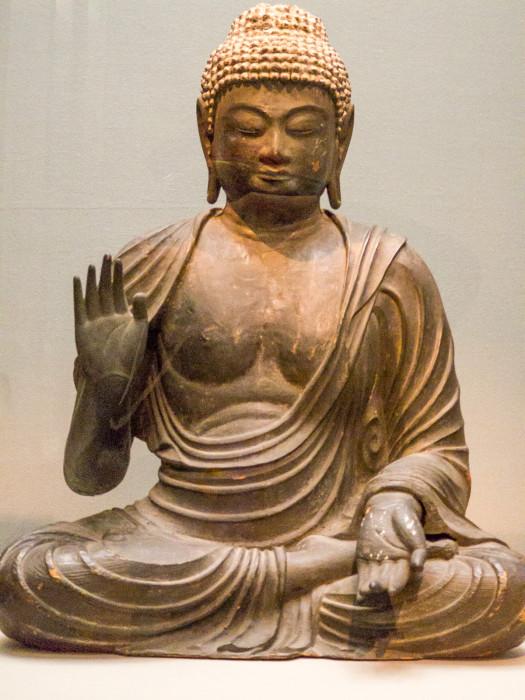 しゃかにょらいざぞう 平安時代・9~10世紀 国立博物館本館