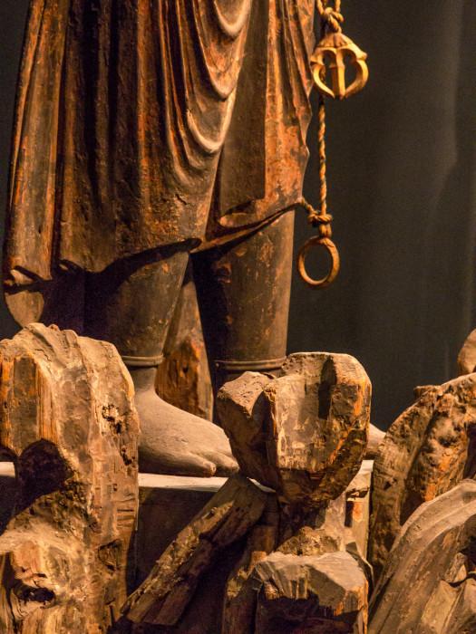 ふどうみょうおうりゅうぞう 国立博物館本館 木造,彩色 像高165.2 平安時代 11世紀 重文 http://www.tnm.jp/modules/r_collection/index.php?controller=dtl_img&size=L&colid=C1525&t=