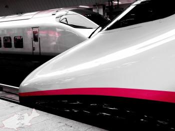 東京駅に停車中の長野新幹線あさま