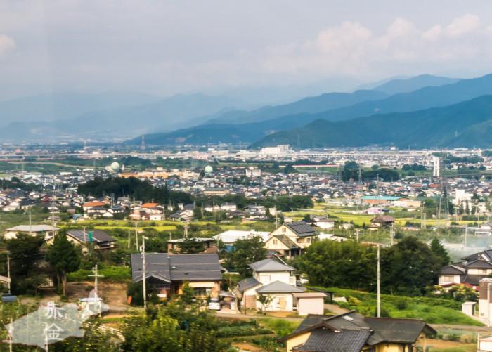 日本三大車窓のひとつ