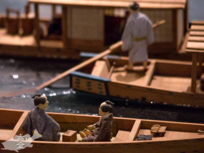 男二人で舟遊び。。。
