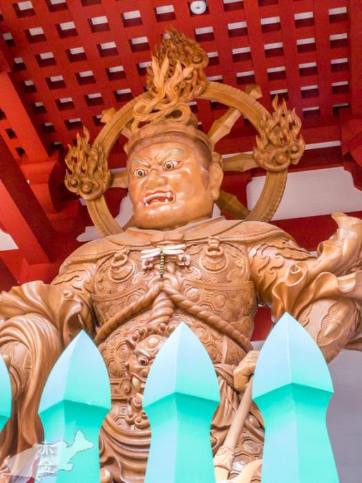 平成26年中門再建の際の新作