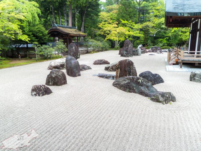 高野山金剛峰寺 蟠龍庭(ばんりゅうてい)