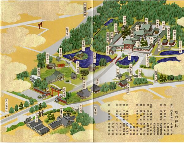 氷川神社境内図