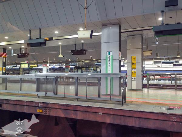 こんなに人のいない東京駅って珍しい
