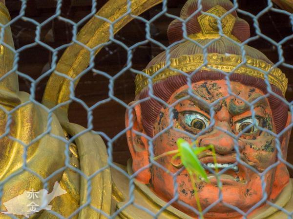 山門の四天王像