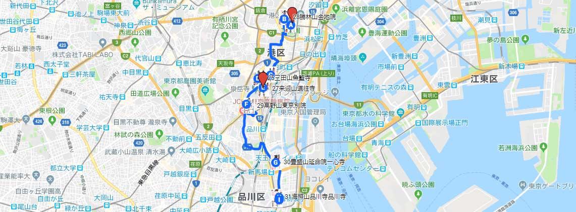 江戸三十三観音巡礼ルート⑤